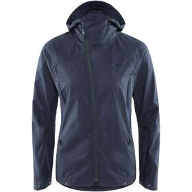 Klättermusen W's Loride Jacket Storm Blue